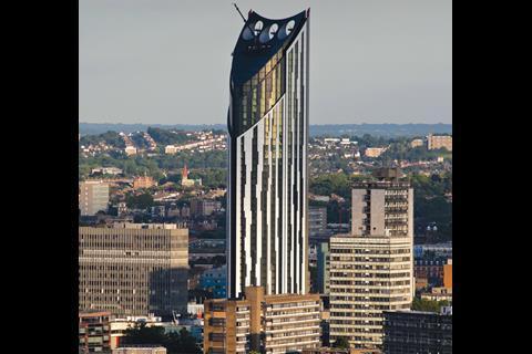 Strata tower by BFLS.
